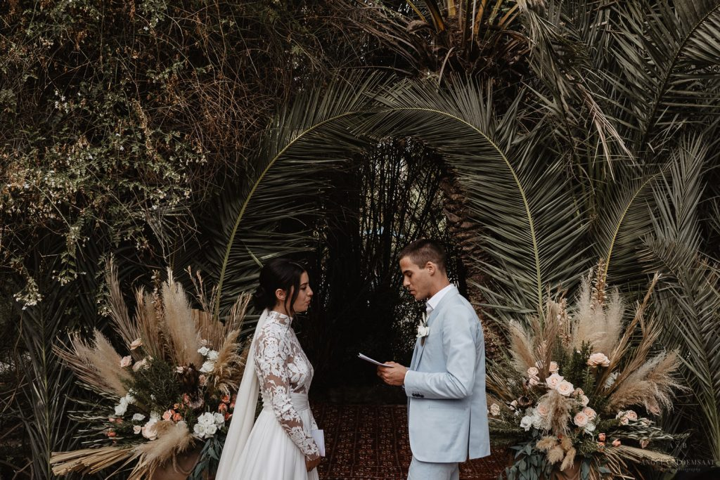 Wedding elopement Morocco Marrakech dessert destination photographer angela Bloemsaat