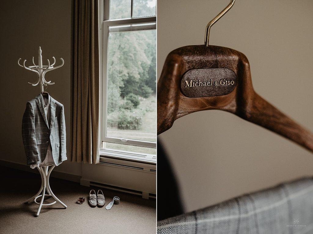 Forest wedding photographer Netherlands michael giso