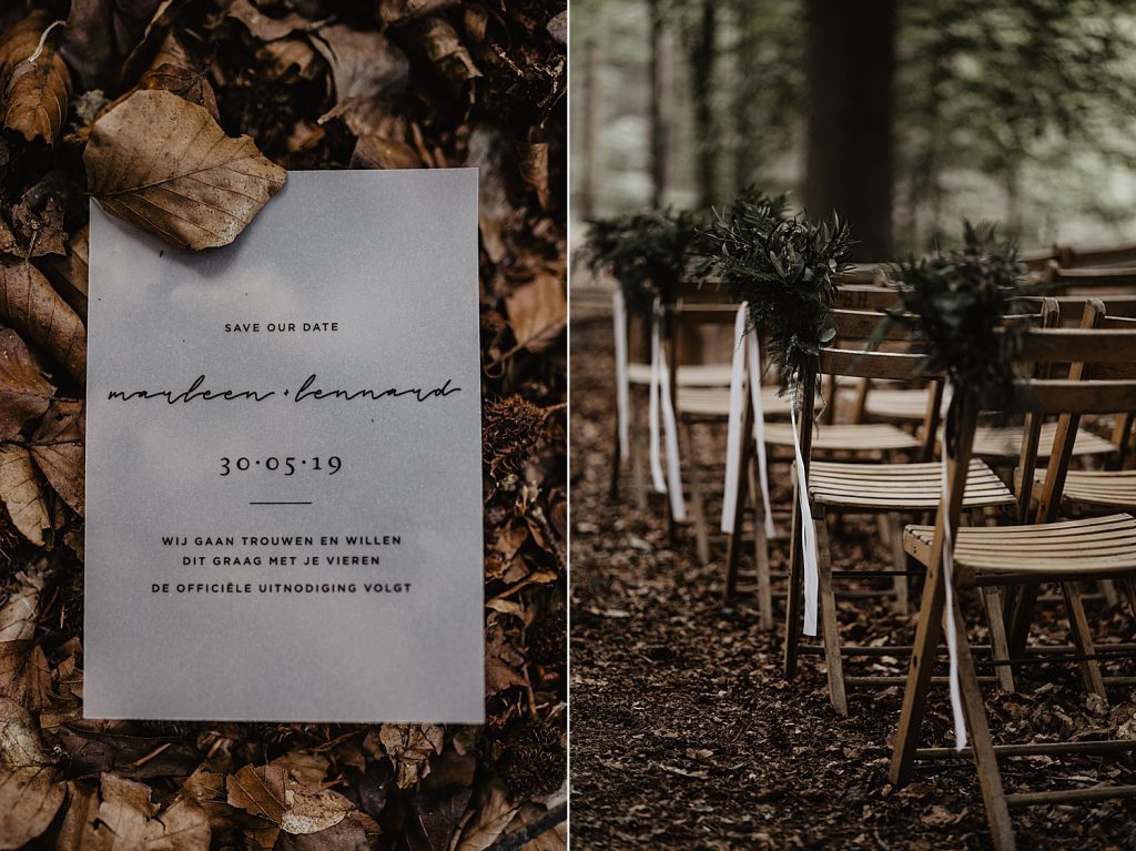 Forest Wedding photographer bruidsfotograaf trouwfotograaf Netherlands nederland Angela Bloemsaat